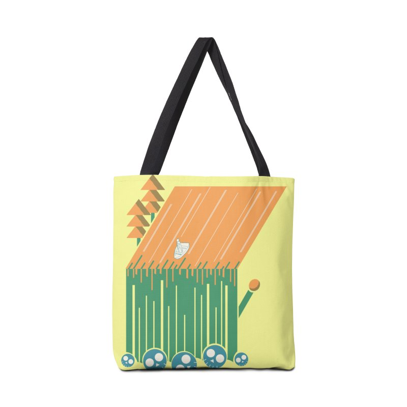 Fire & Water Accessories Bag by Chris Williams' Artist Shop