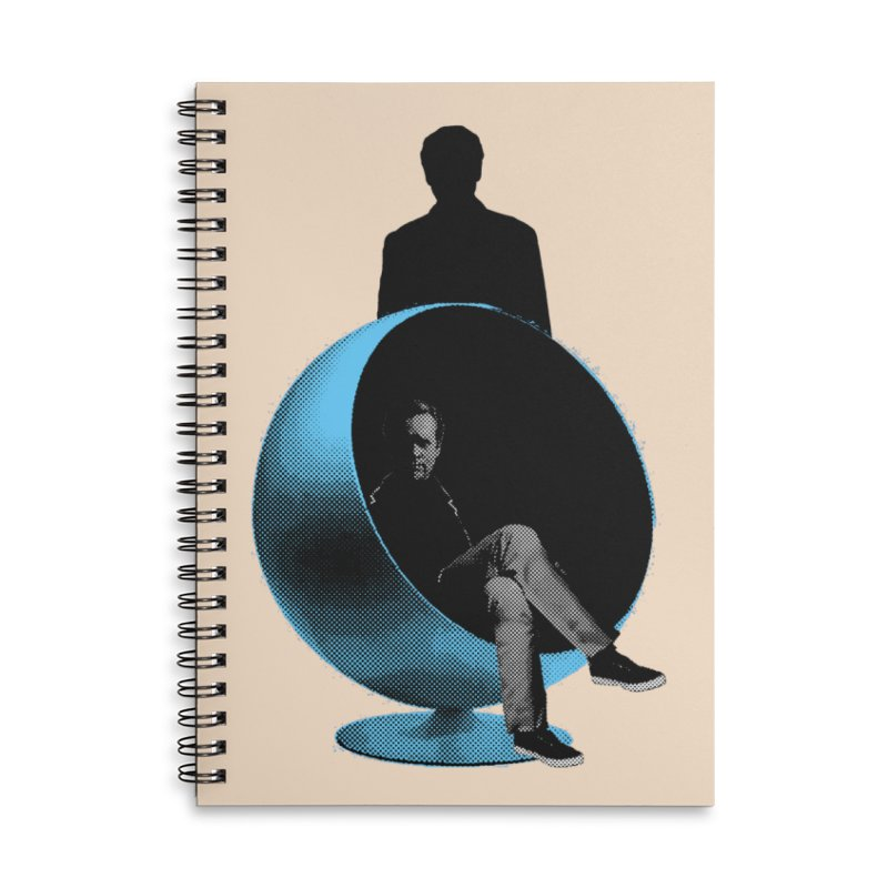 Numbers Accessories Lined Spiral Notebook by Chris Williams' Artist Shop