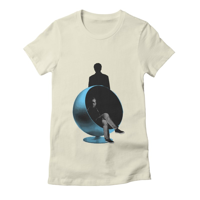 Numbers Women's Fitted T-Shirt by Chris Williams' Artist Shop