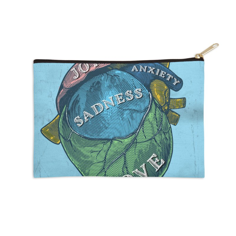 Picture of Good Health Accessories Zip Pouch by Chris Williams' Artist Shop