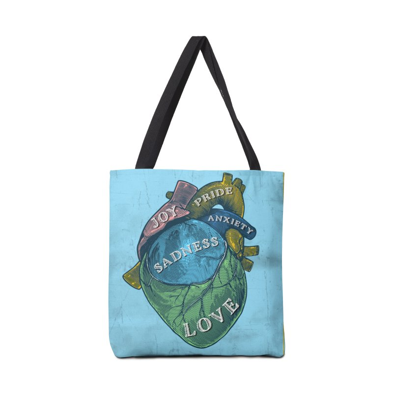 Picture of Good Health Accessories Tote Bag Bag by Chris Williams' Artist Shop