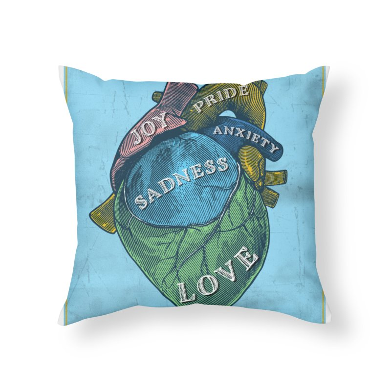 Picture of Good Health Home Throw Pillow by Chris Williams' Artist Shop