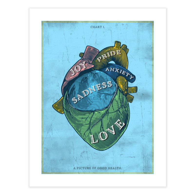 Picture of Good Health Home Fine Art Print by Chris Williams' Artist Shop