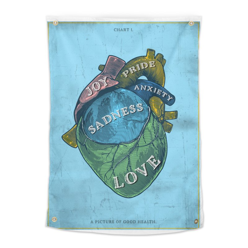 Picture of Good Health Home Tapestry by Chris Williams' Artist Shop