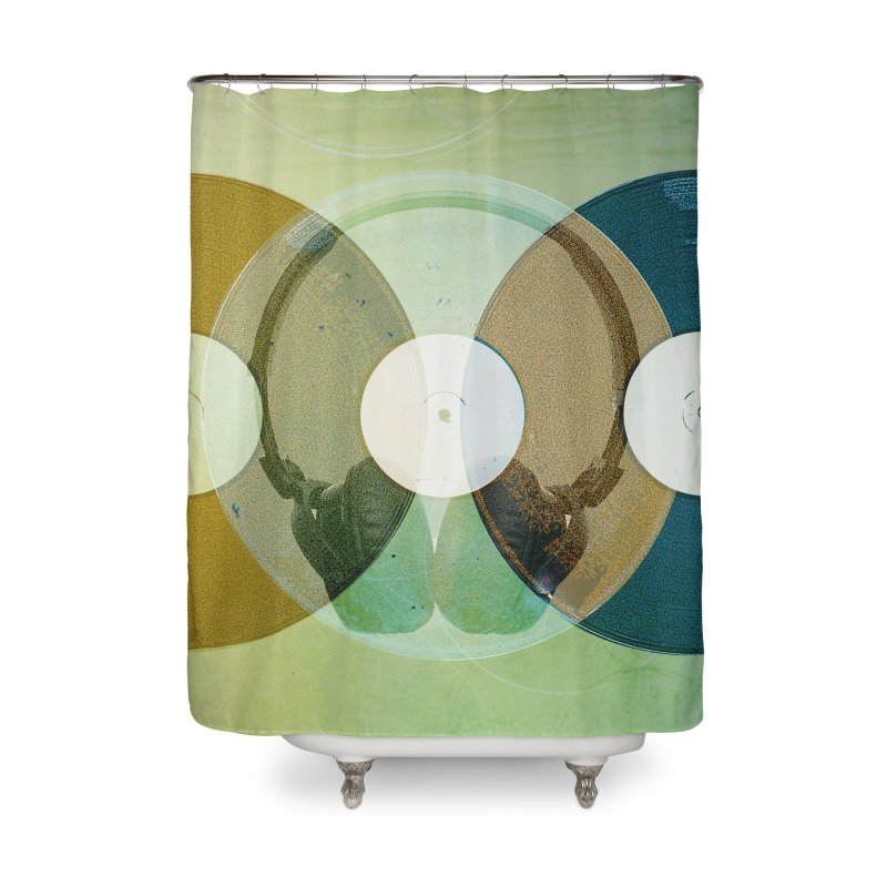 Remix Home Shower Curtain by Chris Williams' Artist Shop
