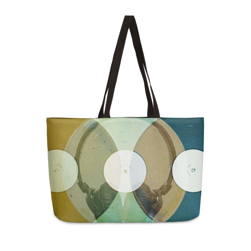 Remix Accessories Weekender Bag Bag by Chris Williams' Artist Shop
