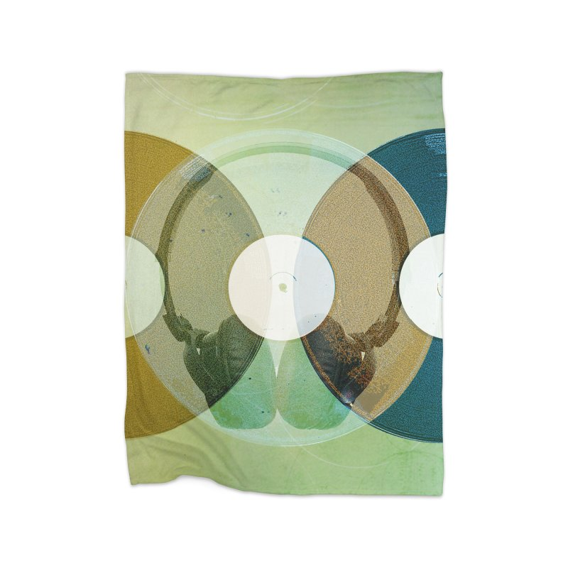 Remix Home Fleece Blanket Blanket by Chris Williams' Artist Shop