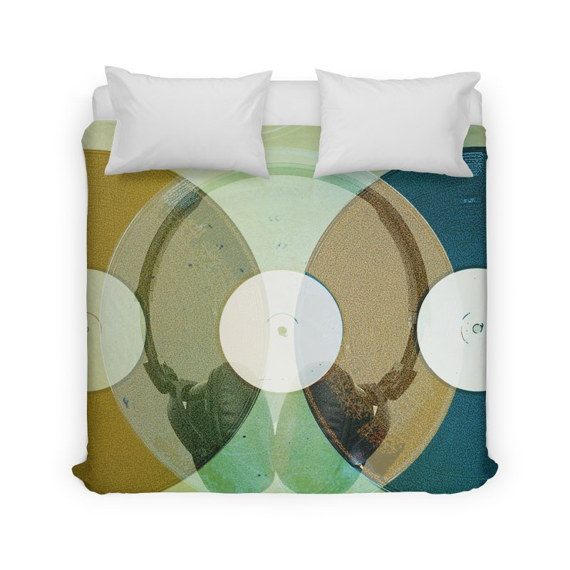 Remix Home Duvet by Chris Williams' Artist Shop