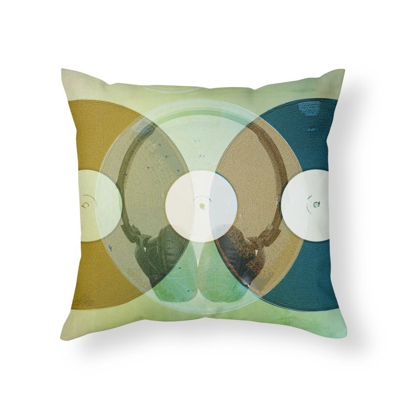 Remix Home Throw Pillow by Chris Williams' Artist Shop