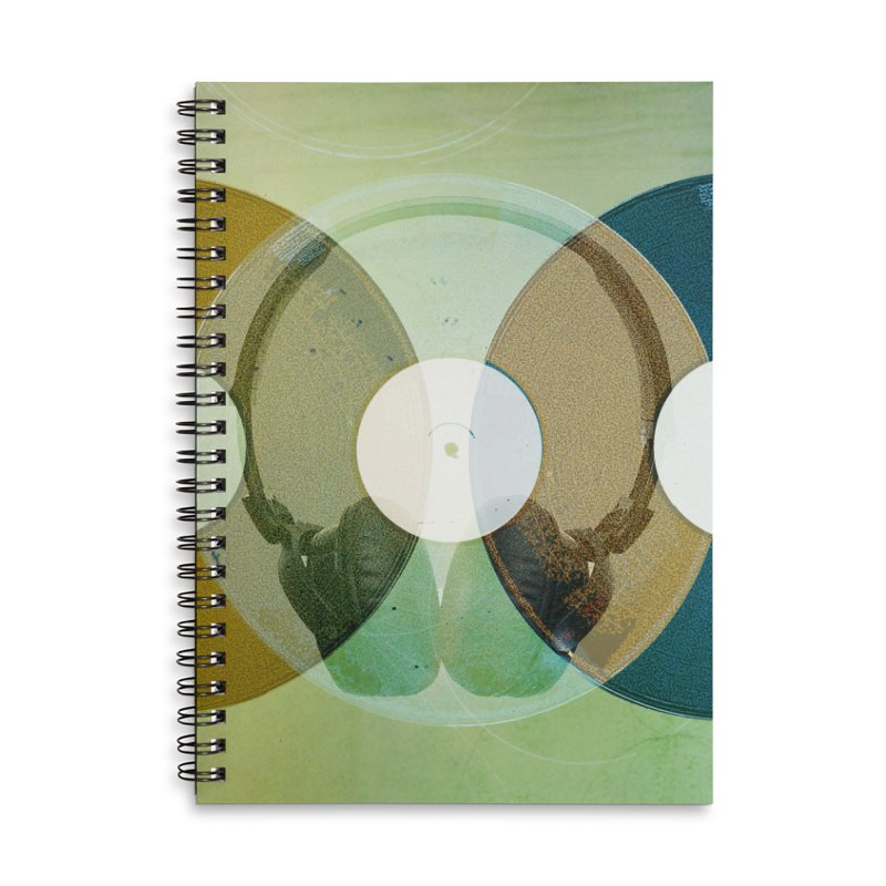 Remix Accessories Lined Spiral Notebook by Chris Williams' Artist Shop