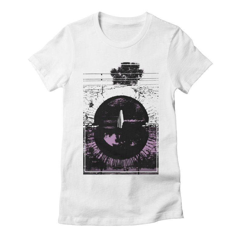 The Ghost Under the Bridge Women's Fitted T-Shirt by Chris Williams' Artist Shop