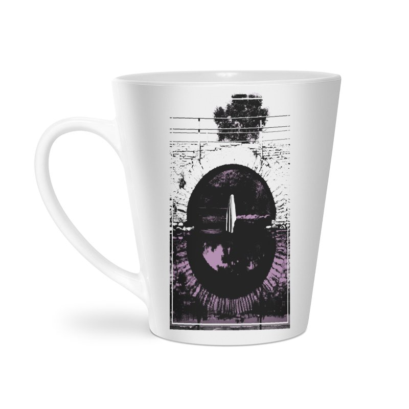 The Ghost Under the Bridge Accessories Latte Mug by Chris Williams' Artist Shop
