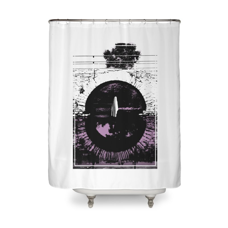 The Ghost Under the Bridge Home Shower Curtain by Chris Williams' Artist Shop
