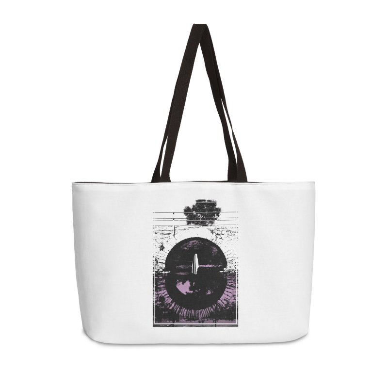 The Ghost Under the Bridge Accessories Weekender Bag Bag by Chris Williams' Artist Shop