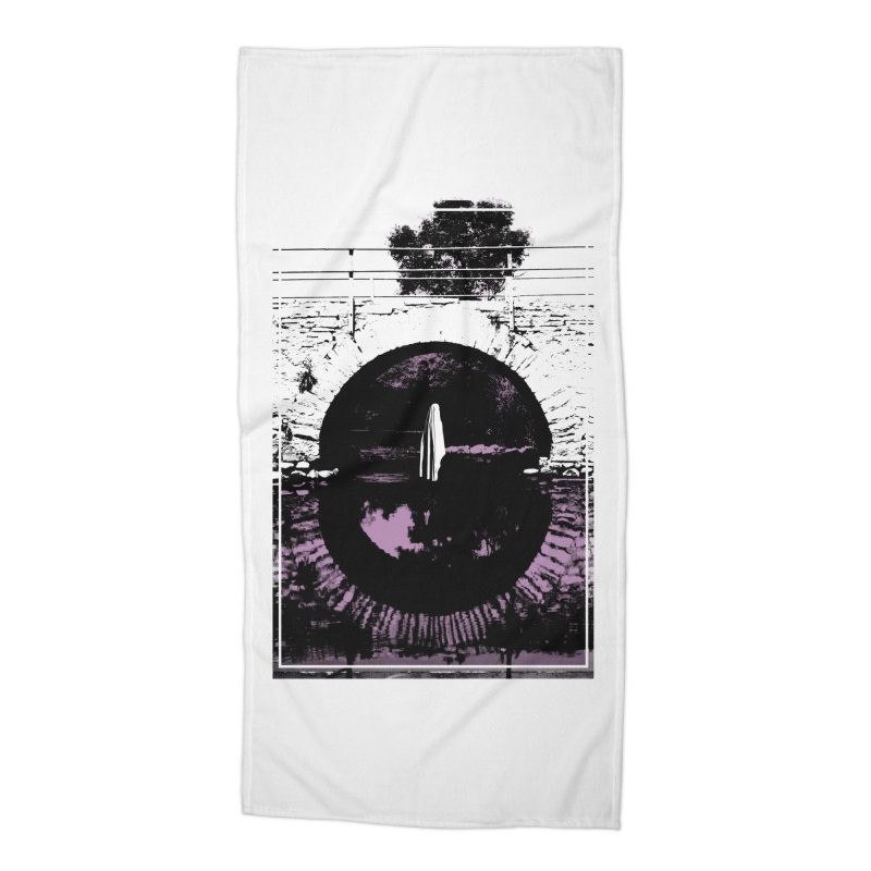 The Ghost Under the Bridge Accessories Beach Towel by Chris Williams' Artist Shop