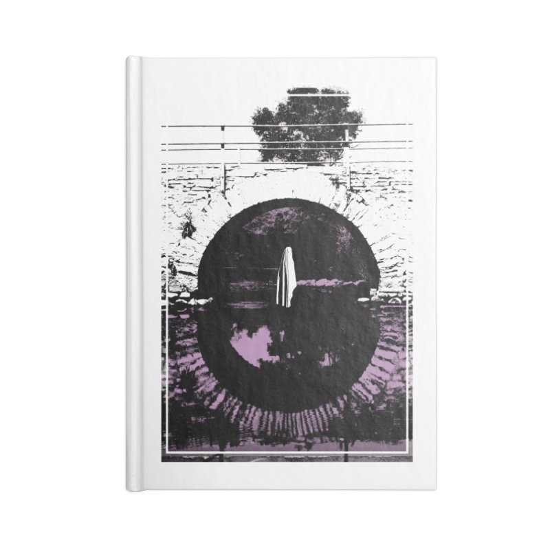 The Ghost Under the Bridge Accessories Lined Journal Notebook by Chris Williams' Artist Shop