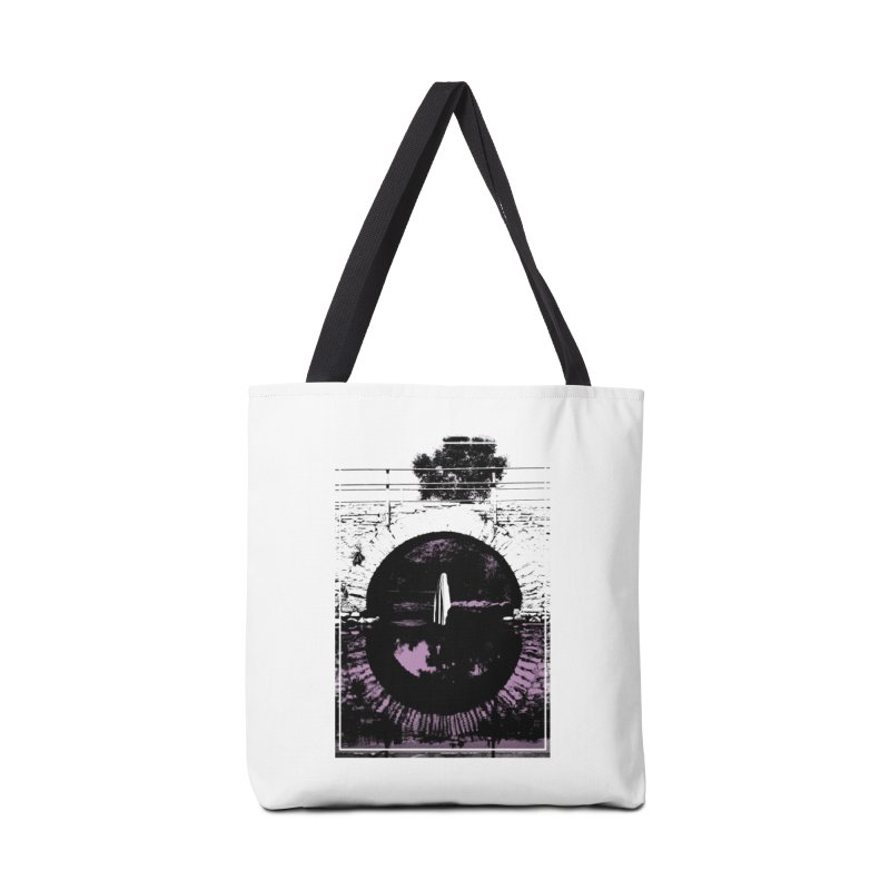 The Ghost Under the Bridge Accessories Bag by Chris Williams' Artist Shop