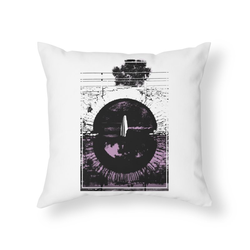 The Ghost Under the Bridge Home Throw Pillow by Chris Williams' Artist Shop