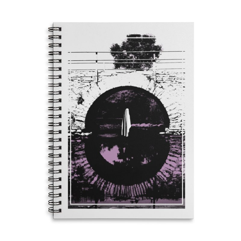 The Ghost Under the Bridge Accessories Lined Spiral Notebook by Chris Williams' Artist Shop