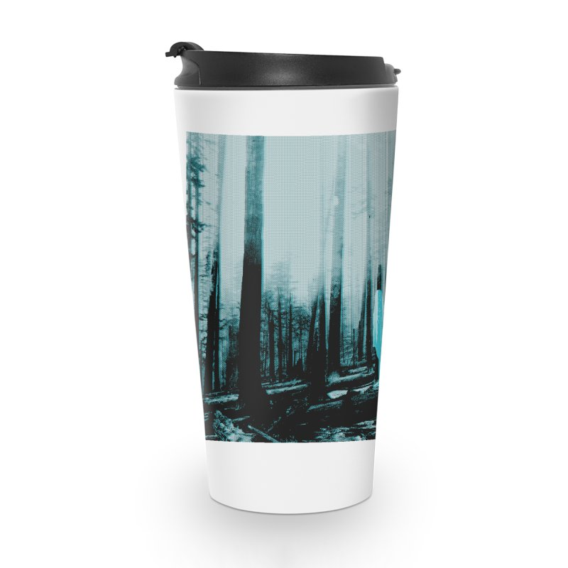 The Forest Accessories Travel Mug by Chris Williams' Artist Shop