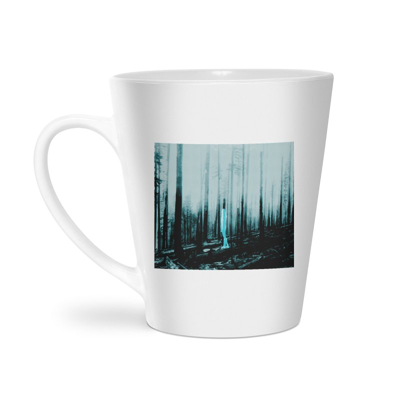 The Forest Accessories Latte Mug by Chris Williams' Artist Shop