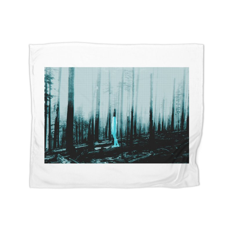 The Forest Home Blanket by Chris Williams' Artist Shop
