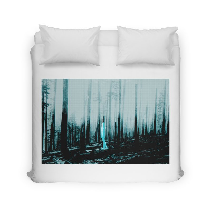 The Forest Home Duvet by Chris Williams' Artist Shop