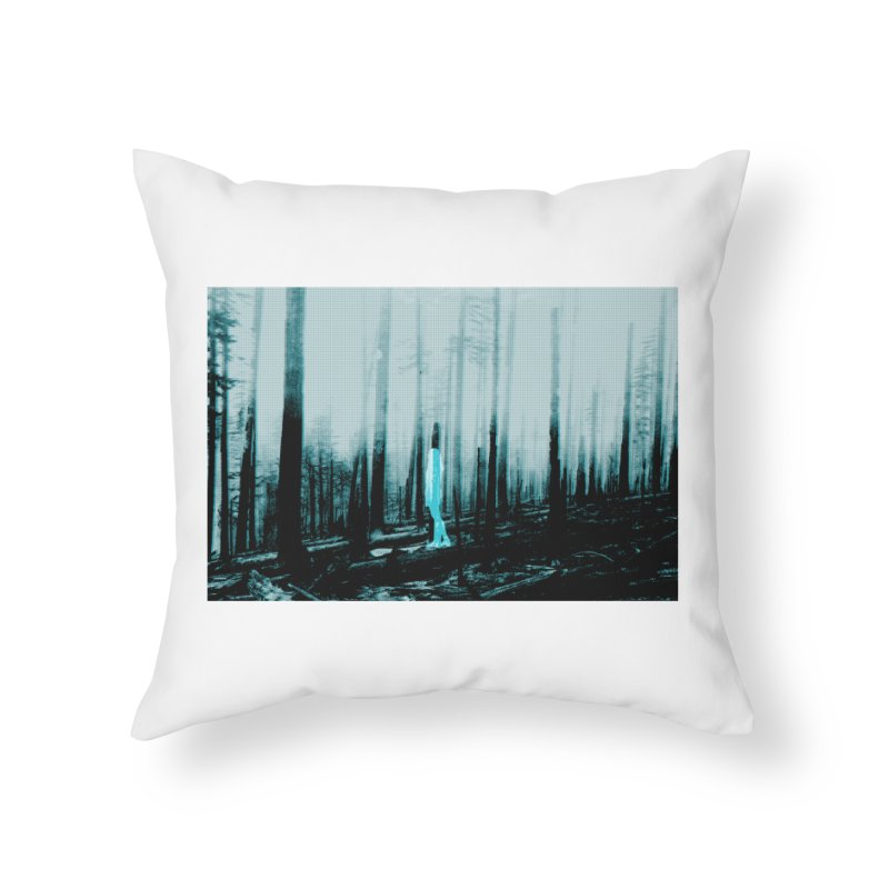 The Forest Home Throw Pillow by Chris Williams' Artist Shop
