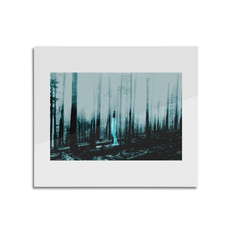 The Forest Home Mounted Aluminum Print by Chris Williams' Artist Shop