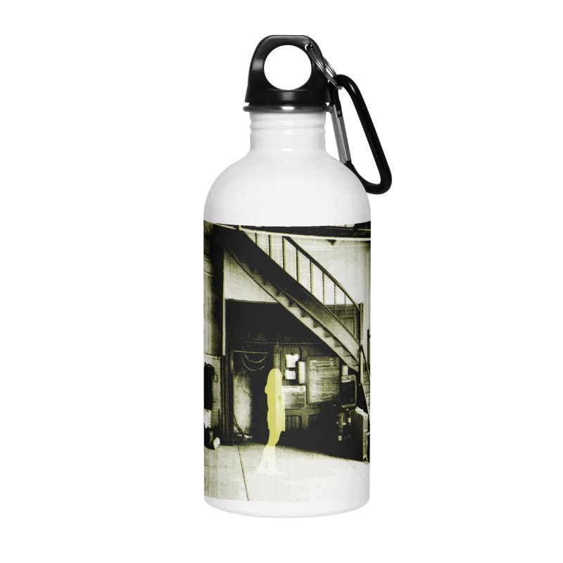 The Firehouse Accessories Water Bottle by Chris Williams' Artist Shop