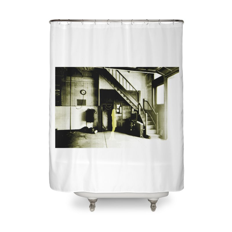 The Firehouse Home Shower Curtain by Chris Williams' Artist Shop