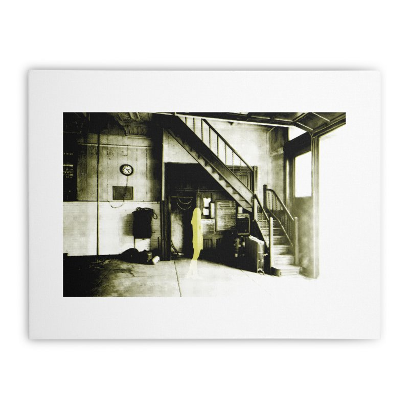 The Firehouse Home Stretched Canvas by Chris Williams' Artist Shop