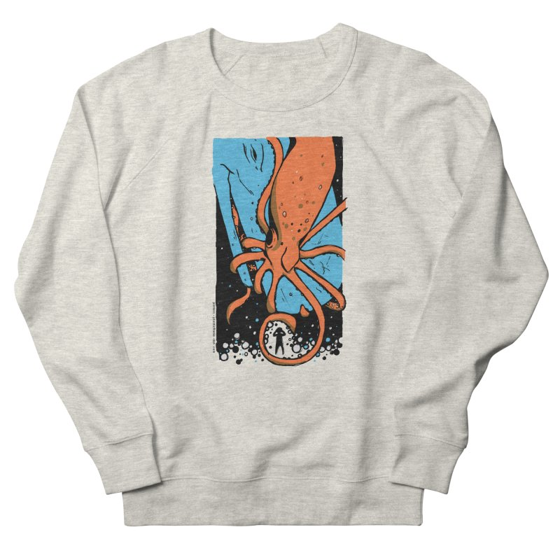 The Squid & the Whale Women's Sweatshirt by Chris Williams' Artist Shop