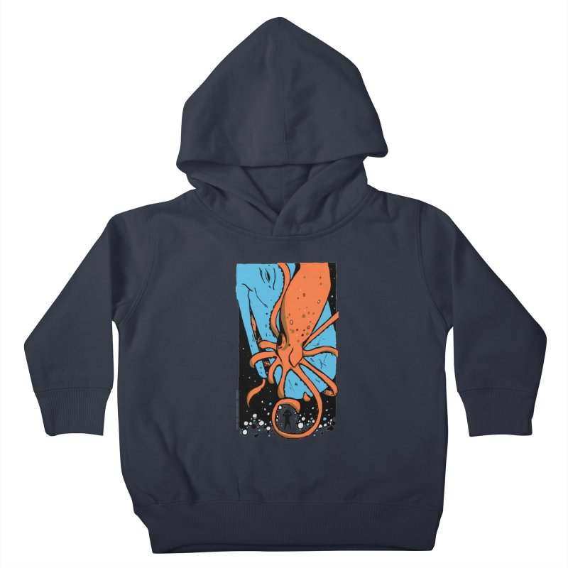 The Squid & the Whale Kids Toddler Pullover Hoody by Chris Williams' Artist Shop