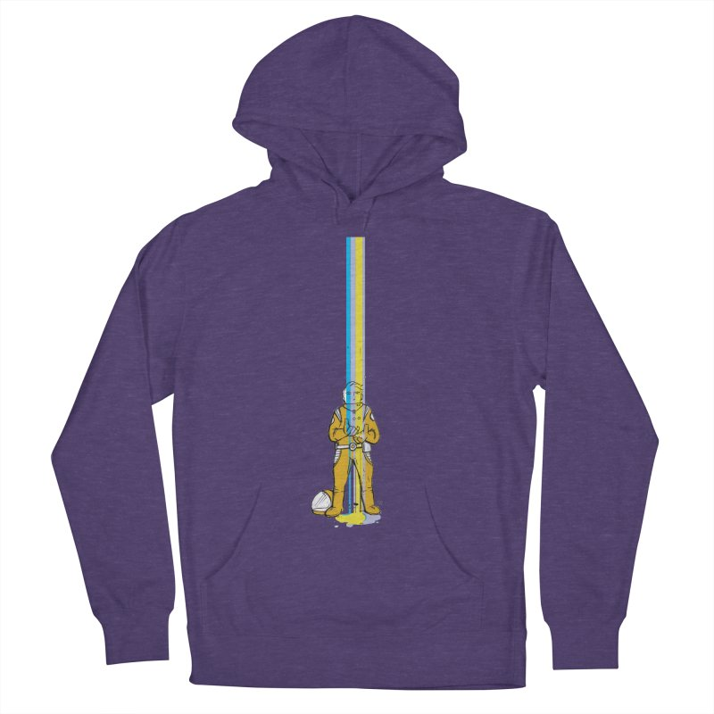Right now is just fine Men's French Terry Pullover Hoody by Chris Williams' Artist Shop