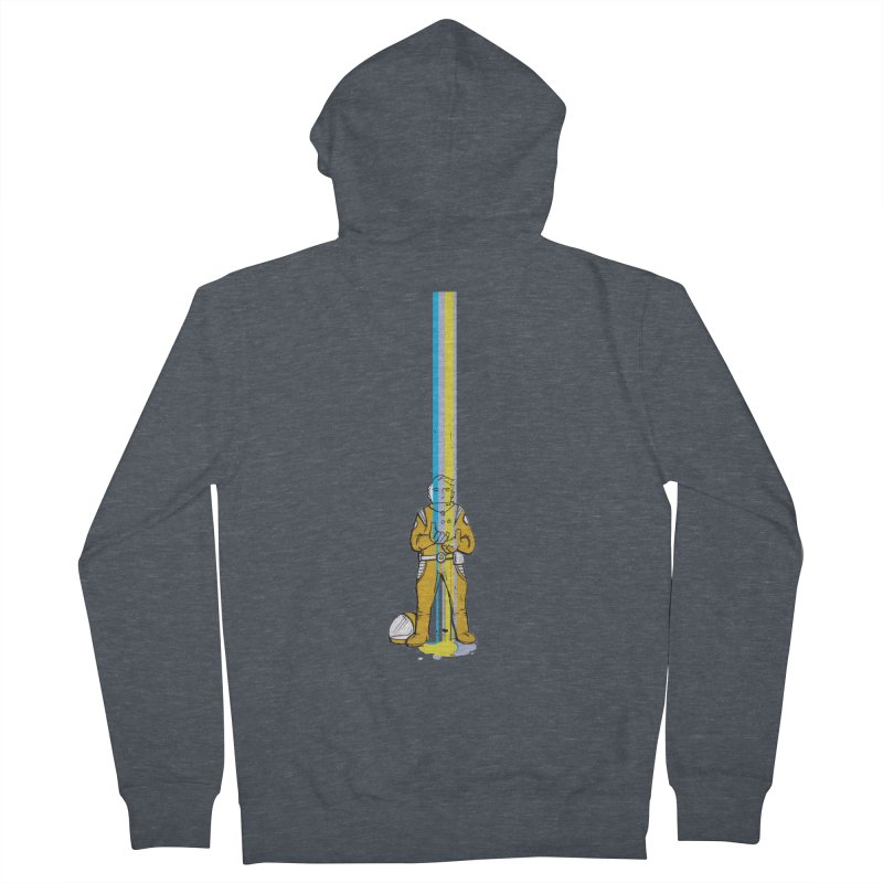 Right now is just fine Men's Zip-Up Hoody by Chris Williams' Artist Shop