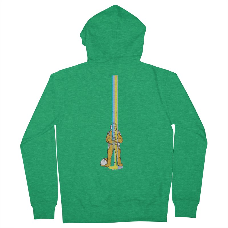 Right now is just fine Men's French Terry Zip-Up Hoody by Chris Williams' Artist Shop