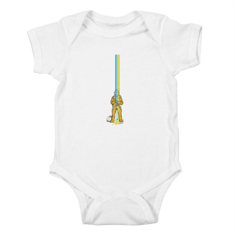 Right now is just fine Kids Baby Bodysuit by Chris Williams' Artist Shop