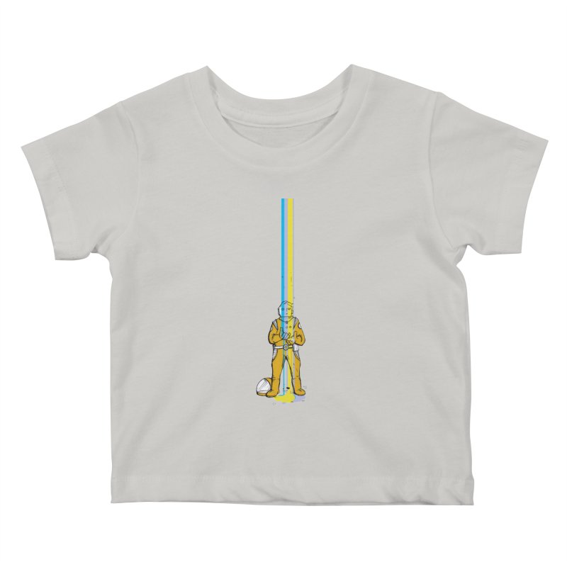 Right now is just fine Kids Baby T-Shirt by Chris Williams' Artist Shop
