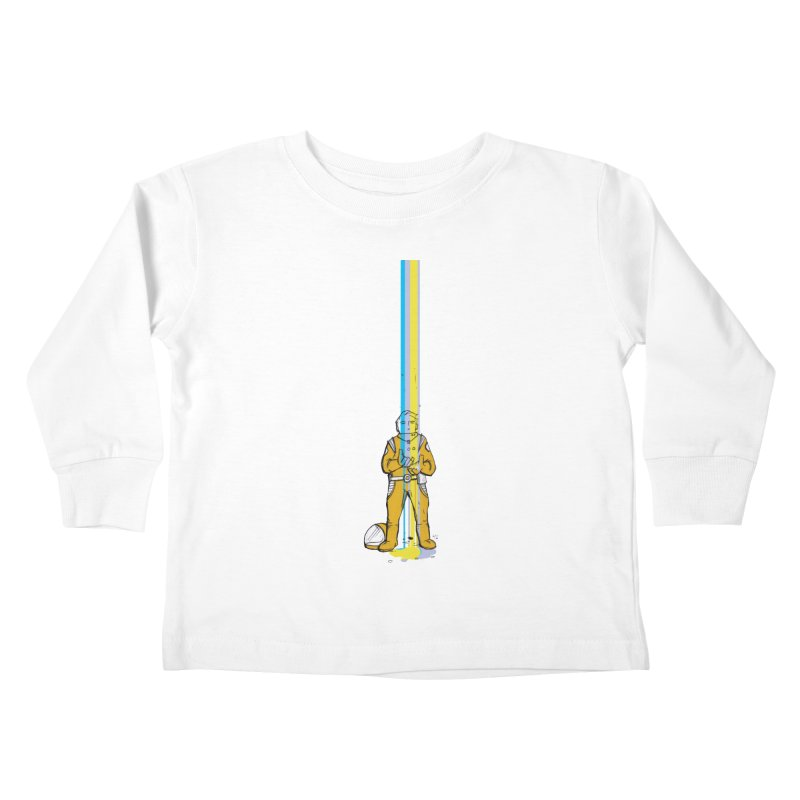Right now is just fine Kids Toddler Longsleeve T-Shirt by Chris Williams' Artist Shop