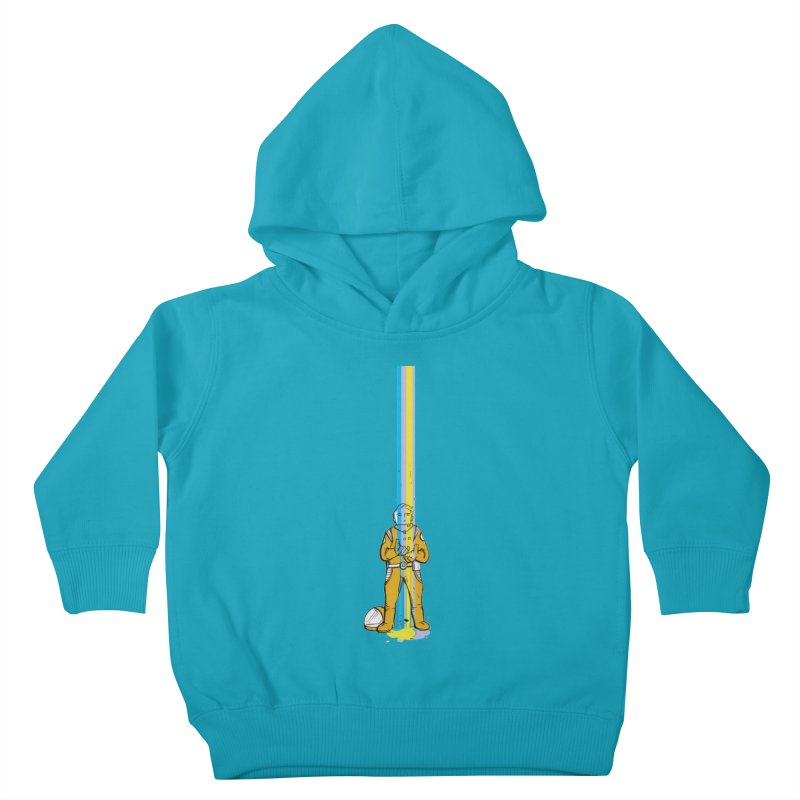 Right now is just fine Kids Toddler Pullover Hoody by Chris Williams' Artist Shop
