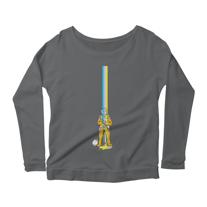 Right now is just fine Women's Scoop Neck Longsleeve T-Shirt by Chris Williams' Artist Shop