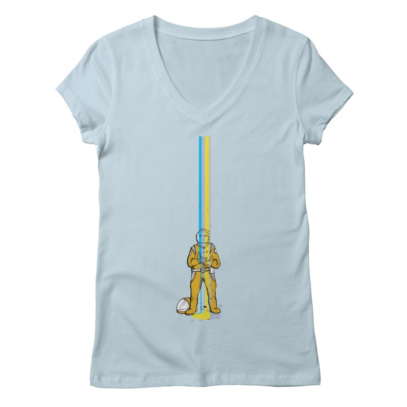Right now is just fine Women's V-Neck by Chris Williams' Artist Shop