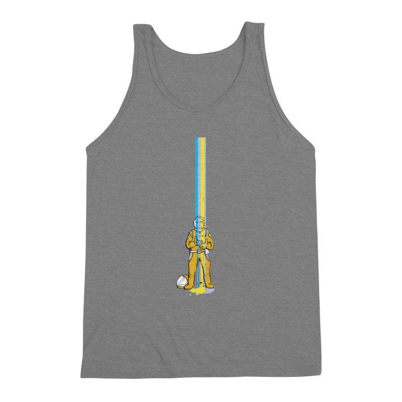 Right now is just fine Men's Triblend Tank by Chris Williams' Artist Shop