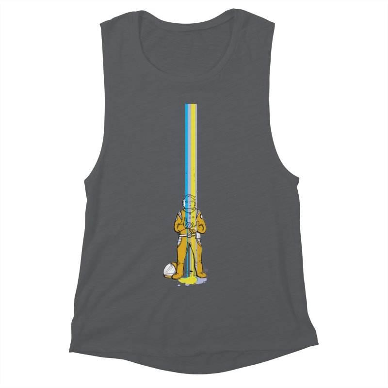 Right now is just fine Women's Muscle Tank by Chris Williams' Artist Shop