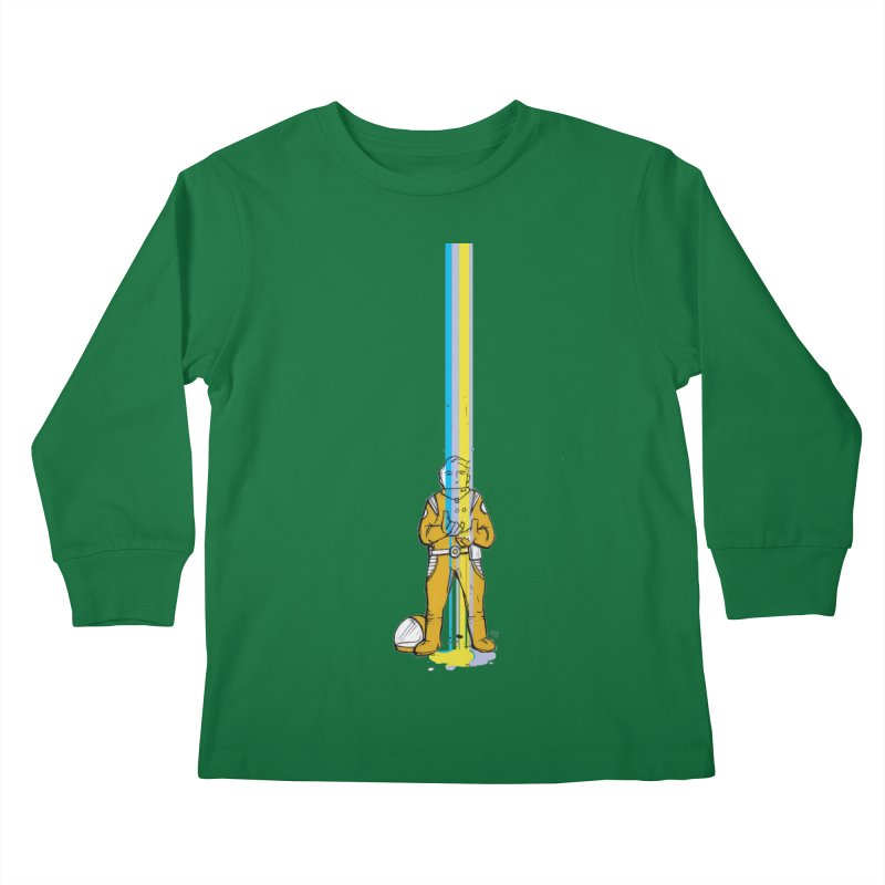 Right now is just fine Kids Longsleeve T-Shirt by Chris Williams' Artist Shop