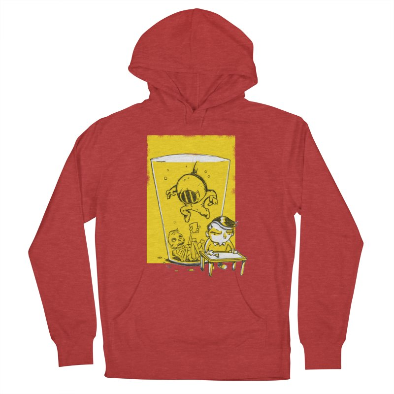Beer Diver Men's French Terry Pullover Hoody by Chris Williams' Artist Shop