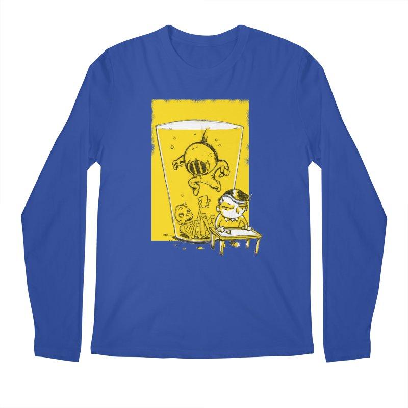 Beer Diver Men's Longsleeve T-Shirt by Chris Williams' Artist Shop