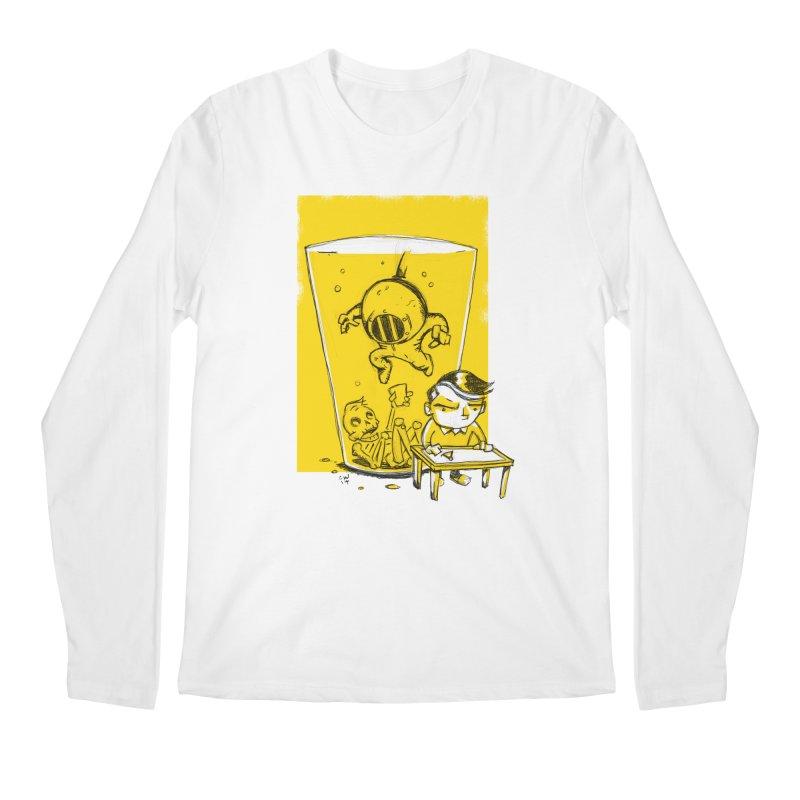 Beer Diver Men's Regular Longsleeve T-Shirt by Chris Williams' Artist Shop