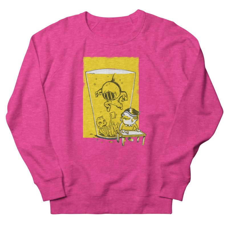 Beer Diver Women's French Terry Sweatshirt by Chris Williams' Artist Shop